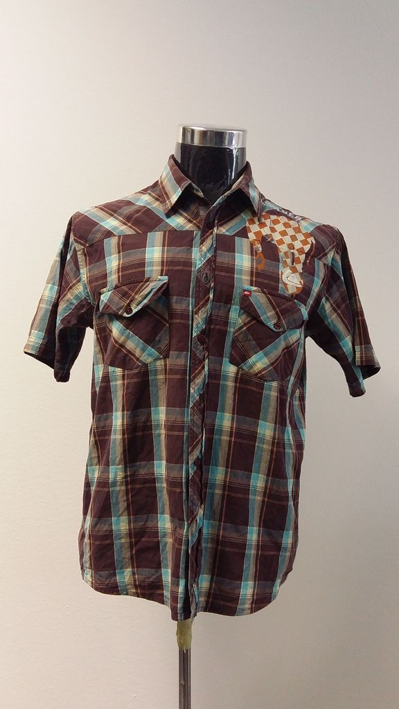 Mens Summer Shirt   Quicksilver   Large   R75   SPECIAL