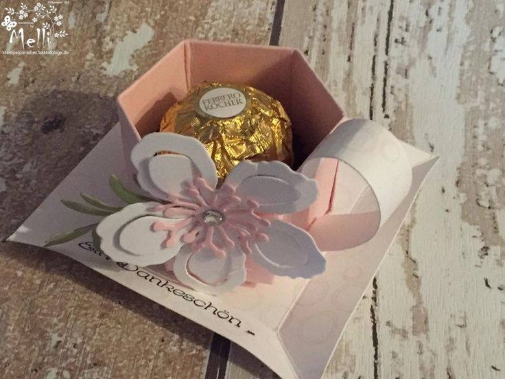 Stampin Up, Tasse, Tutorial, Rocher, Goodie