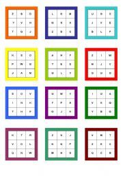 alphabet bingo printable