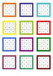 alphabet bingo printable