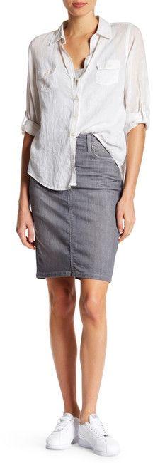 Joe's Jeans Justina High Waisted Pencil Skirt