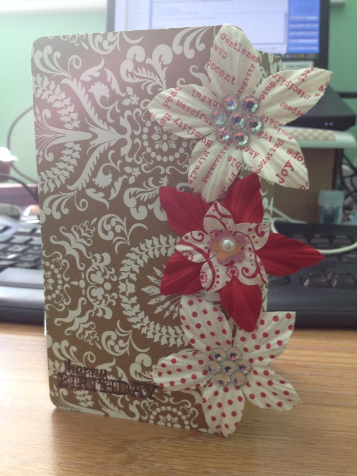 Lisa's birthday card - handmadewithlove