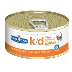 Hill's Prescription Diet Feline k/d with Chicken  24 count $44.49 unit price: $1.85