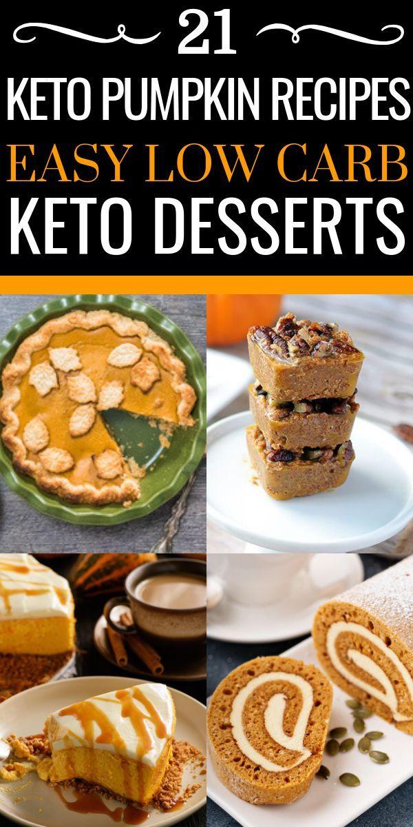 21 recetas de calabaza keto! Estas recetas fáciles de calabaza keto son el coche perfecto bajo …