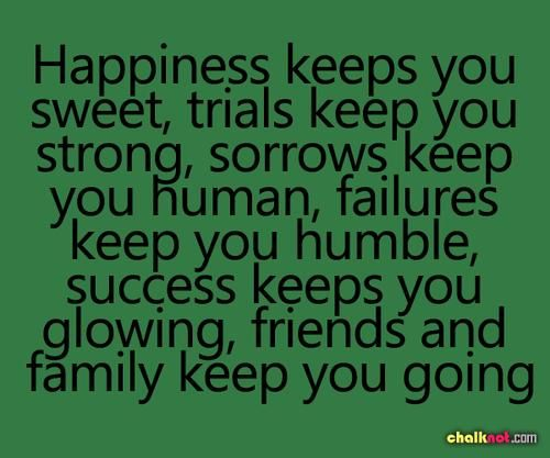 Completely True!! I have been threw  hell and back, I'm proud of the person it has made me. I'm so blessed to have wonderful family and friends that kept me going. At this point in my life I am truly completely happy and I'm going to sit back and enjoy every minute of it <3