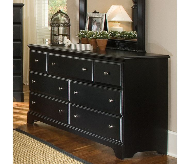 Carolina Furniture Works Midnight Triple Dresser