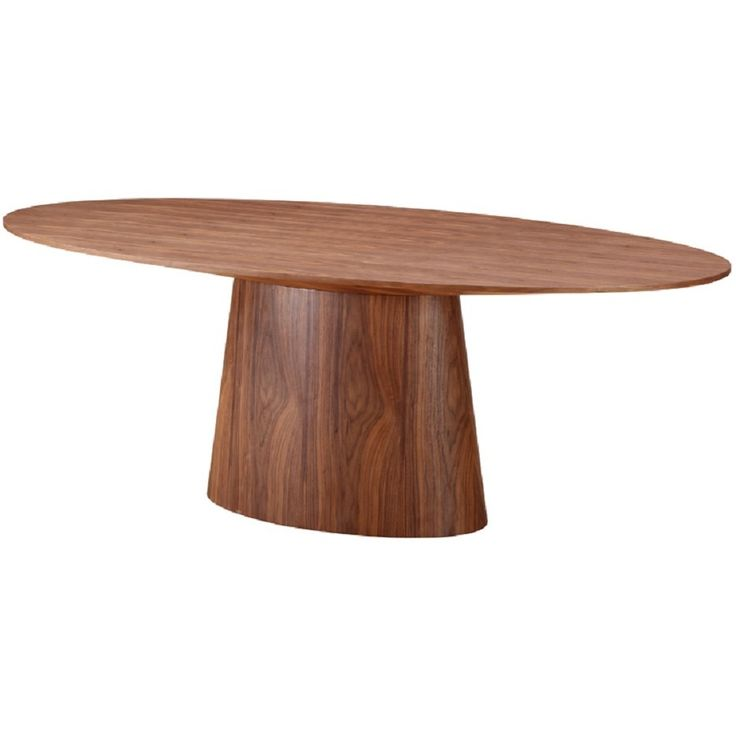 Crafted In A Attractive Walnut Veneer The Chelsea Dining Table Features Warm Look That Can Make Any Room Feel Cozy This Provides