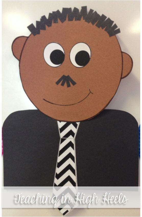 Celebrating Dr. King a Craftivity for Little Learners (Freebie)
