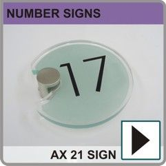 #modernhousenumbers  Modern House Numbers  http://www.de-signage.com/acrylic-house-numbers.php