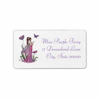Fairy address label