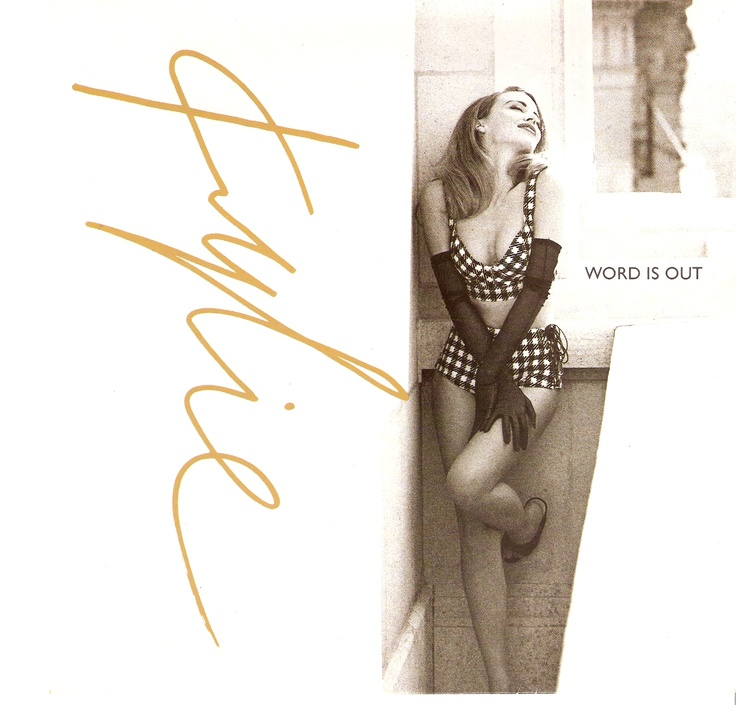 KYLIE MINOGUE-WORD IS OUT-1991
