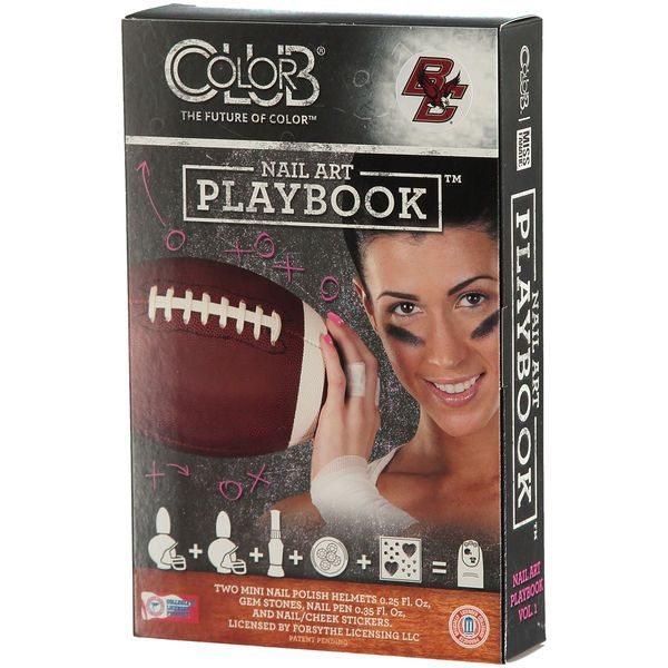 Boston College Eagles Nail Art Playbook - $21.99