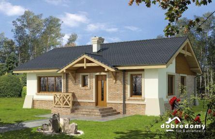 Antiope #homeinspiration - miły dla oka projekt niskiego domku!