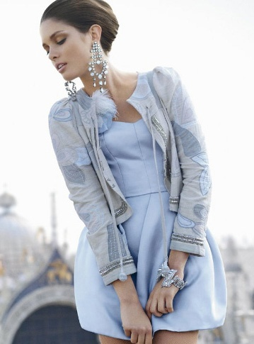 Silk & Satin by bersa via lundlundBaby Blue, Fashion Style, Clothing, Street Style, Silk Satin, Outfit, Soft Blue, Pale Blue, London Fashion Weeks