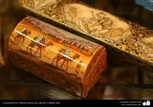 Artesanato Persa- Pintura em osso | Galeria de Arte Islâmica e Fotografia