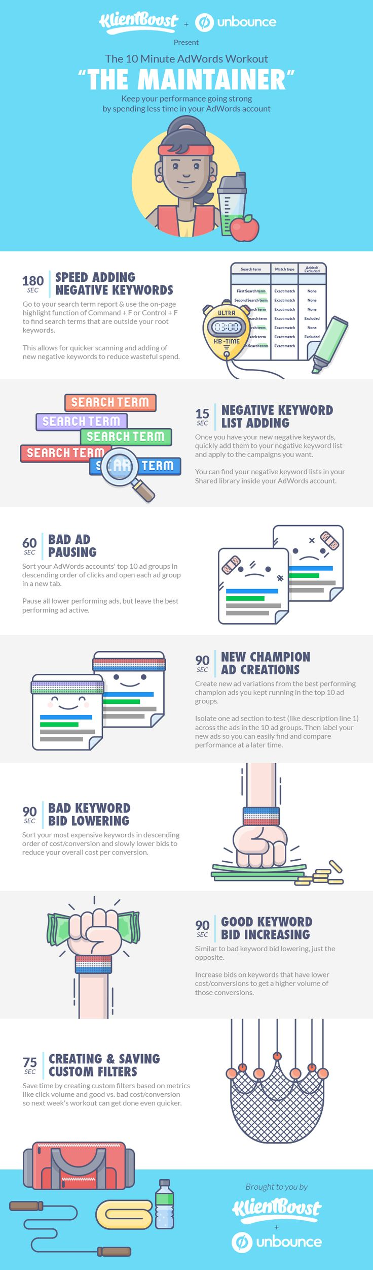 679 best google adwords images on pinterest online marketing the 10 minute adwords management workouts the maintainer more design inspiration at www fandeluxe Choice Image
