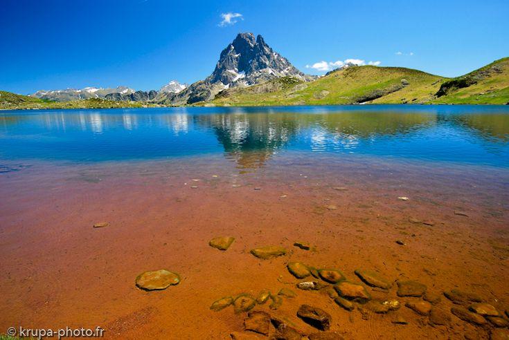 Lac Gentau dans les Pyrénées