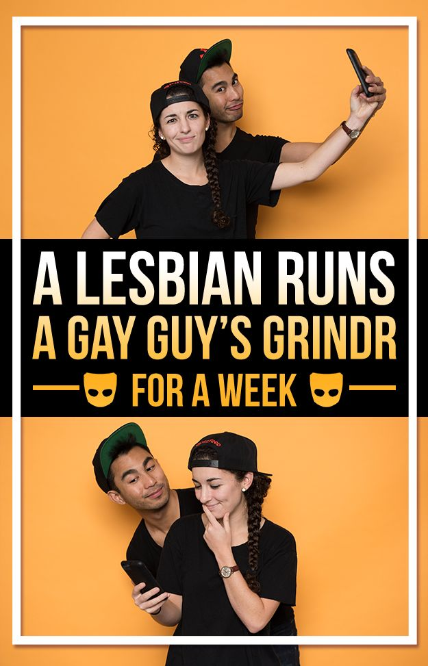 This Is What Happens When A Lesbian Runs A Gay Guy's Grindr For A Week