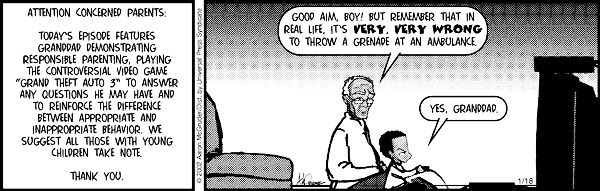 The Boondocks Comic Strip #971