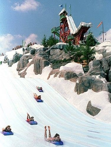 Blizzard Beach, Disneyworld. This is part of a fantasy trip to Orlando, intended to be a three week vacation to enjoy all the sites and wonders in Central Florida!