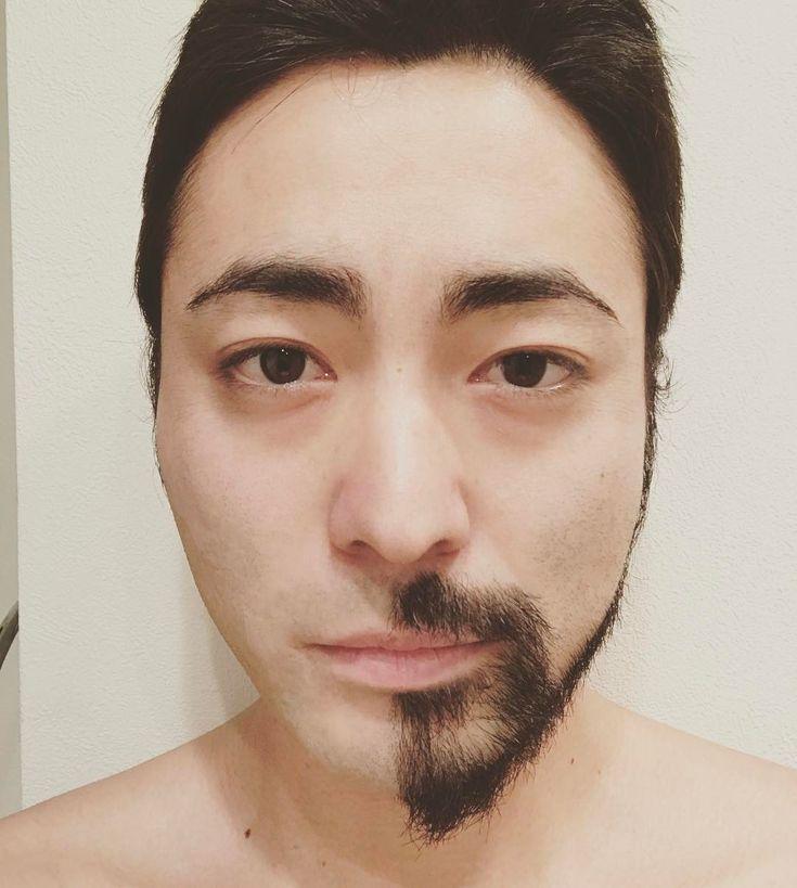 山田孝之がヒゲを「ハーフ&ハーフ」にした写真を公開 / ずいぶん印象が違うけど…結局どっちもイケメンだと話題です | Pouch[ポーチ]