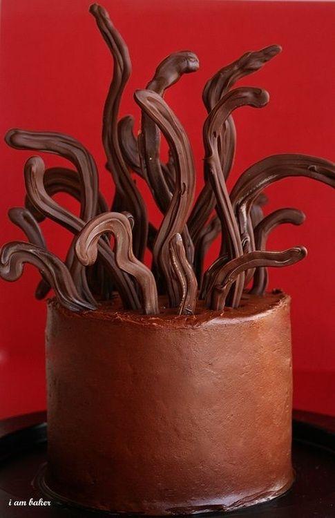 Freaky Halloween Cake