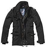 Amazon Angebot Brandit Herren Parka Jacke M65 Voyager Wool, Gr. Large, Schwarz (schwarz 2)Ihr Quickberater