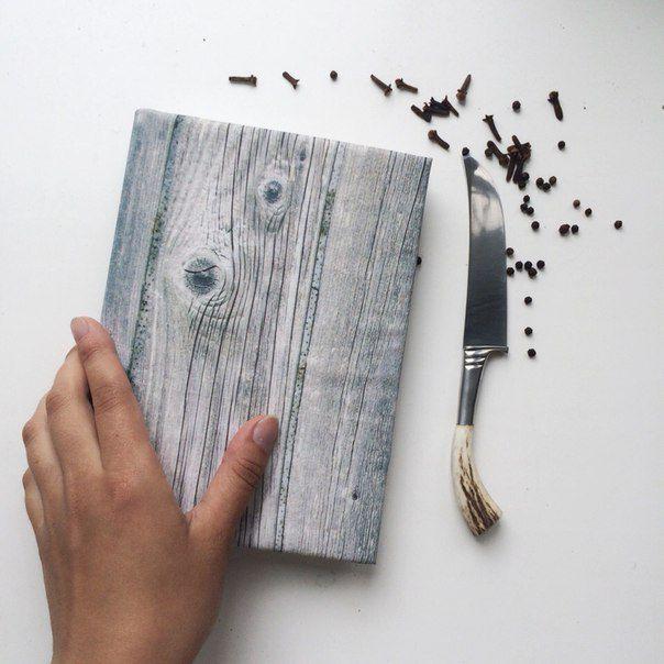 Купить Кулинарная книга - серый, кулинарная книга рецептов, подарок, ручная работа handmade
