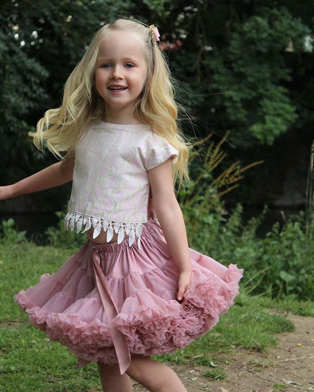 Another beautiful styling of our Tea Rose tutu from an Instagram Fan! #myangelsface