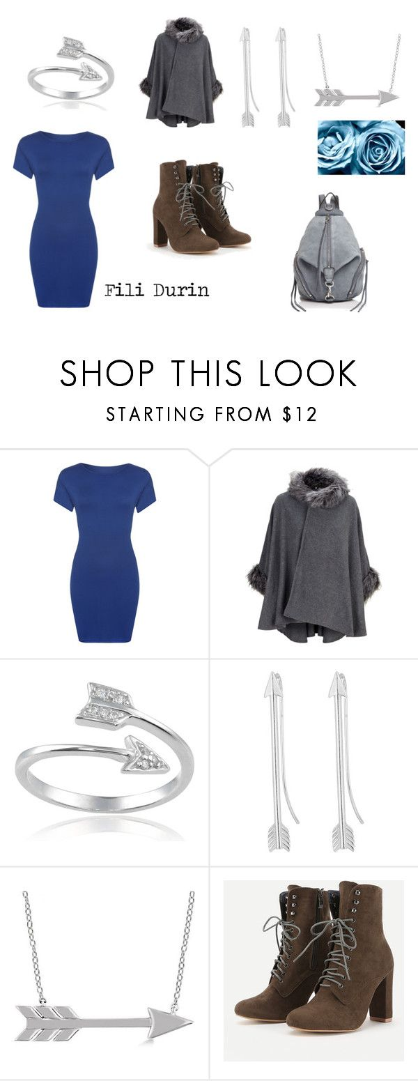 """Fili Durin (The Hobbit)"" by mary-minge on Polyvore featuring WearAll, Journee Collection, Alex and Ani, Allurez and Rebecca Minkoff"