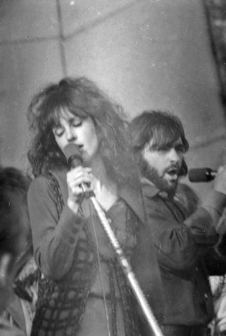 Grace Slick and Marty Balin of Jefferson Airplane