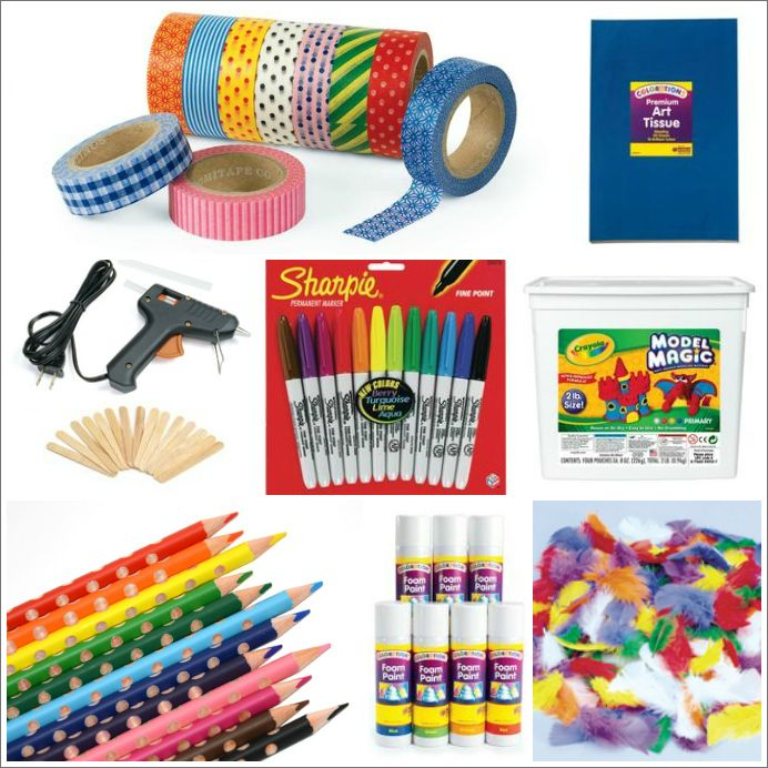 The 25 best kids art materials and where to buy them the for Art n craft from waste