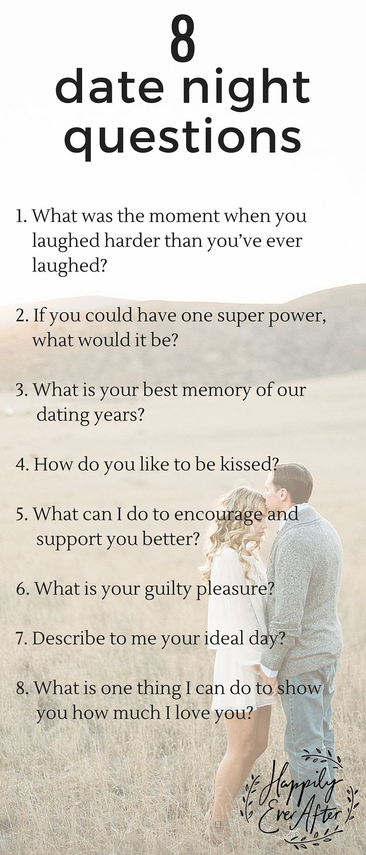Here Are 8 Questions To Ask Each Other On Your Next Date Night Asking Open