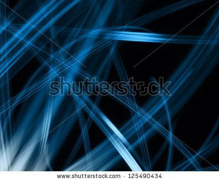 blue lines - stock photo