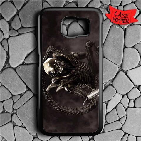 Hr Giger Black Alien Samsung Galaxy S7 Black Case