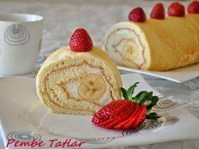 Pembe Tatlar: Muzlu Rulo Pasta