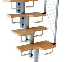 Fontanot Arkè Kya: easy to assemble prefab stair kits   Fontanot escaleras