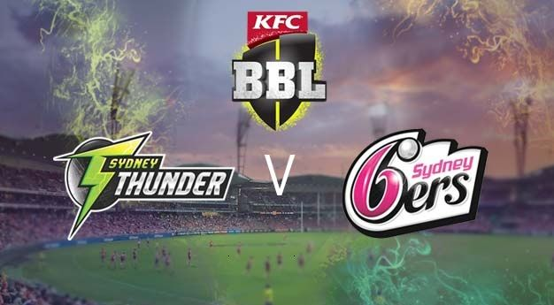 Sydney Thunder vs Sydney Sixers Live Stream 1st Match Big Bash League Today Match. SYT vs SYS first t20i cricket match live score tv channels team squads