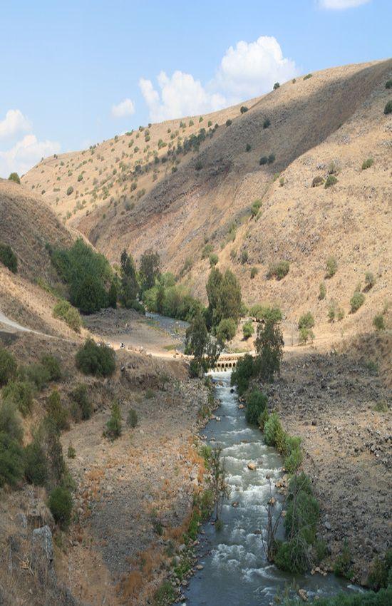 Flowing Of The Jordan River, #Israel.