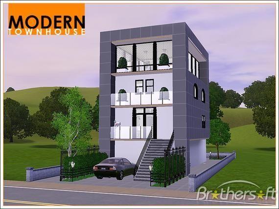 54 Besten Bildern Zu Floor Plans Auf Pinterest Sims 3 Wohnzimmer Modern