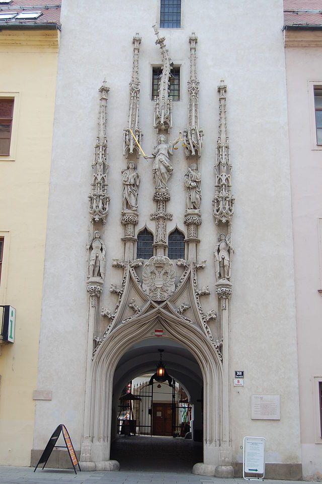 Brno City Center 163 - Stará radnice (Brno) – Wikipedie