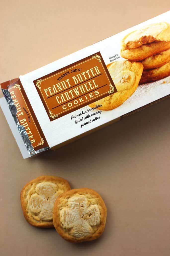 Trader Joes Peanut Butter Cartwheel Cookies Review Traderjoes