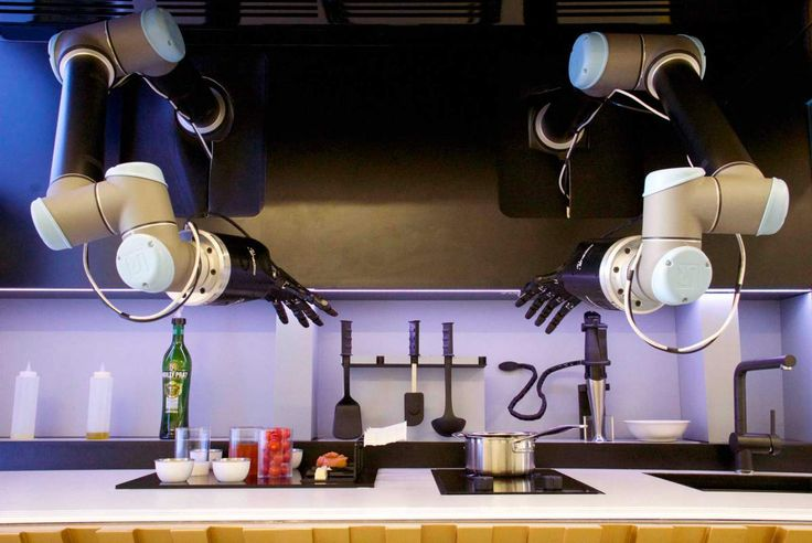 An automated kitchen by Moley Robotics launching in 2017!