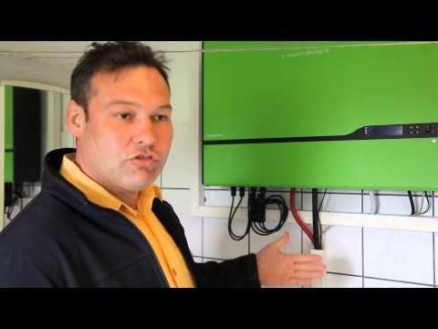 Solarstrom zu Hause speichern: Batterie-Energiespeicher helfen beim Stromsparen - YouTube