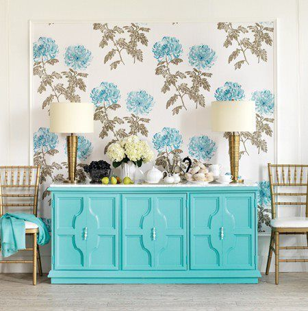 turquoise allways looks good!