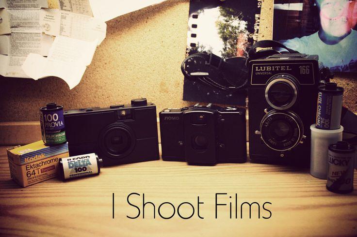 I shoot films