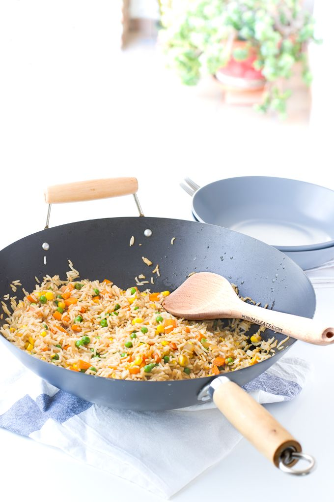 #Vegan fried rice. Perfect easy healthy dinner! | minimaleats.com
