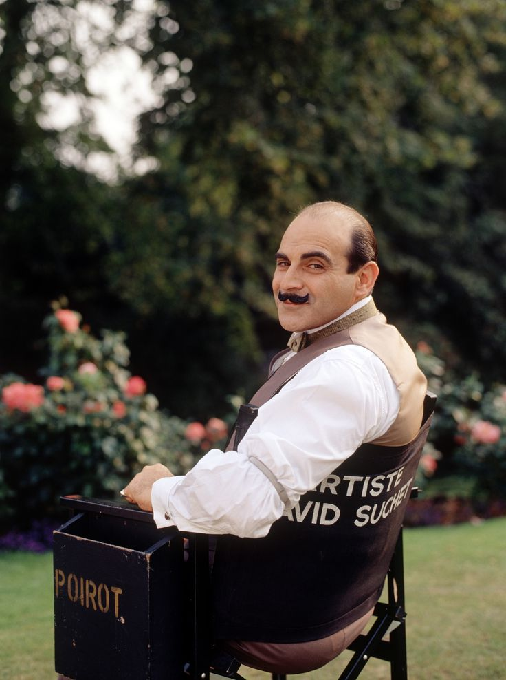 ~ British actor David Suchet ...