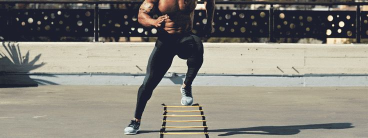 Workout: The Agility Ladder Advantage - Furthermore from Equinox Fitness Goals, Health Fitness, Workout Fitness, Lower Body Circuit, Ladder Workout, Marathon Training, Walking, Training Exercises, Equinox