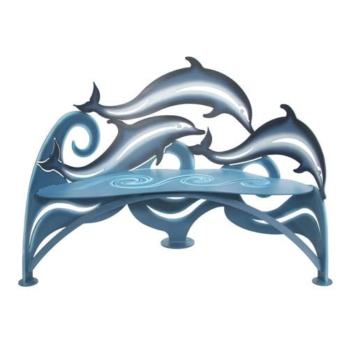 Dolphin Bench Cricket Forge Benches Outdoor Benches Outdoor & Patio Furniture